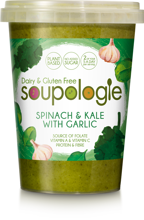 Soupologie Spinach & Kale with Garlic Soup