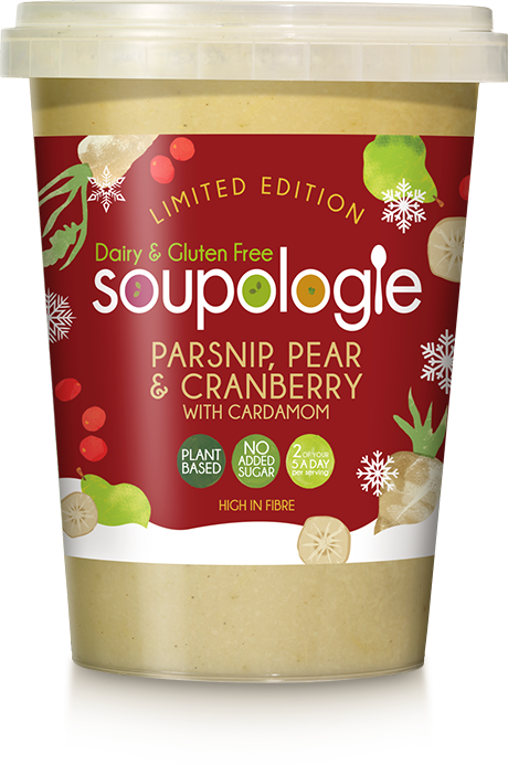 600g PARSNIP, PEAR & CRANBERRY WITH CARDAMOM